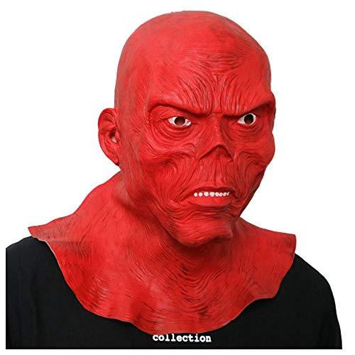 Maske YN Halloween Bar Haunted House Dekoration Kammer Zimmer Horror Big Props Thriller Man Geister Varianten Alien Man Alien Red Zombie Mummy