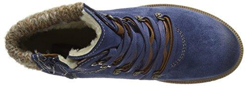 Marco Tozzi Premio Damen 26272 High-Top Blau (Denim Ant.Comb 815)