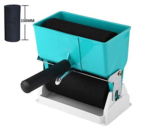 Tragbarer Kleber Applikator Geeignet für PVC-Kleber,Latex,Holzleim und Anderen flüssigen Kleber DIY Handkleberrolle (6inches/320ml) - Latex-klebstoff
