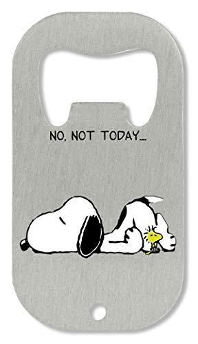 No Not Today Snoopy Dog Abrebotellas