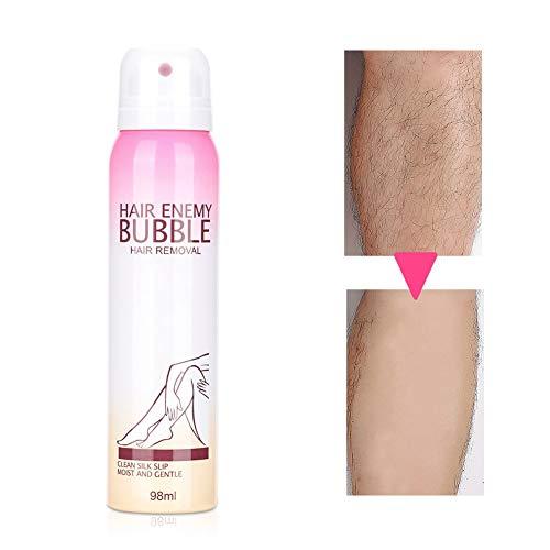 Crema depilatoria a bolle indolore da 98 ml per crema depilatoria spray a lunga durata