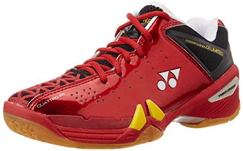 Yonex SHB01YLTD Badminton Shoes LCW, UK7  (Dark Pink)