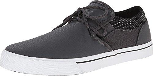Supra Cuba, Sneakers Basses mixte adulte Grey / black - white