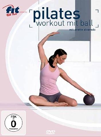 Pilates Workout mit Ball - mit Anette Alvaredo (Pilates Ball)