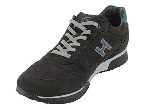 Sneakers Hogan homme en cuir retournée noir - Code modèle: HXM1980R9709LE452L Noir