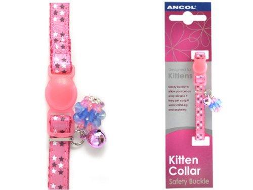 Ancol-Cute-Pink-Stars-Kitten-Collar-673150