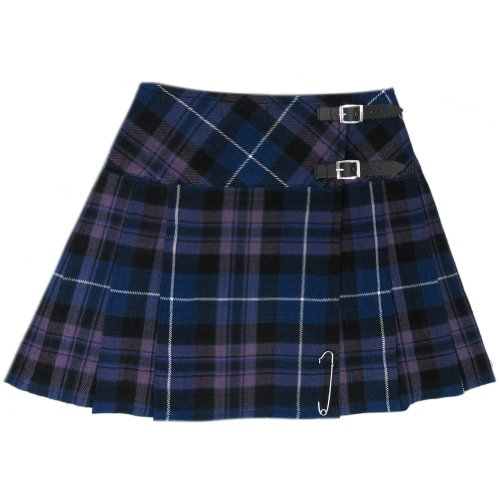 Tartanista - Damen Mini-Kilt - 42 cm (16,5