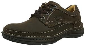 diseñamos tu web: Clarks Nature Three 20340682 - Zapatos casual de cuero nobuck para hombre, color...