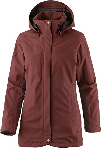 VAUDE Damen Doppeljacke Idris 3-in-1 Parka berry