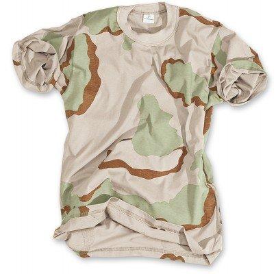 Classic Army Style T-Shirt Kurzarm Shirt 6 Farben wählbar S - 3XL M,Desert