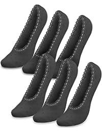 3 oder 6 Füßlinge mit Spitze - Sneakersocken