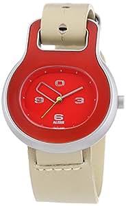 Alessi Unisex-Armbanduhr Buckle AL 9001