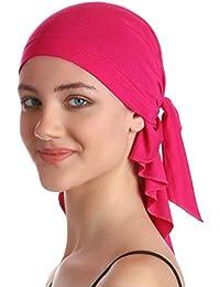 Eillybird Sombrero Cabeza para C/àncer Turbantes Pa/ñuelos Cabeza Mujer para Cancer Oncologicos Perdida De Cabello Turbante Plisado Sombrero Abrigo del Pelo