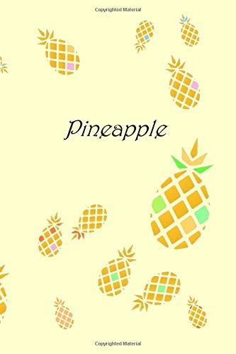 Pineapple: Pineapple notebook, Fruits journal, Fruit diary, Grass in the interior, school book, amazing gift Frucht-center