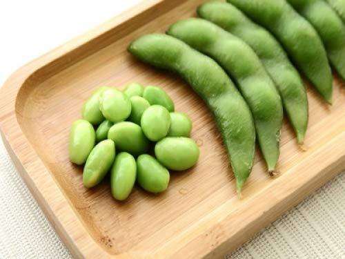 MeiGuiSha Garten - Bio Japanische Stängelbohne samen winterhart grüne Edamame Sojabohne Gemüsesamen für Hausgartenpflanzen (50)