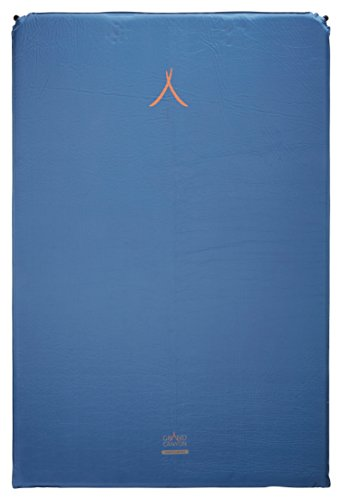 Grand Canyon Cruise 5.0 double - selbstaufblasbare Isomatte, 196 x 130 x 5 cm, blau, 305036
