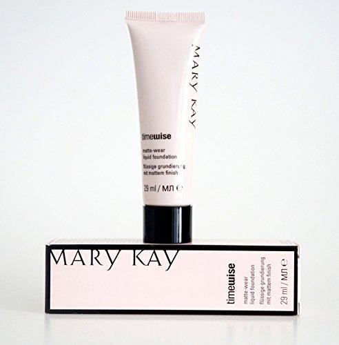 Ivory 6 TimeWise Matte Wear Foundation - flüssige Grundierung für Mischhaut/fettige Haut 29ml MHD 2020-2021 - Matte-wear Liquid Foundation
