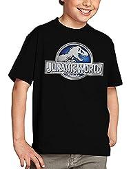 Camiseta Jurassic World niños Logo Classic (todas las tallas) (11-12 años)