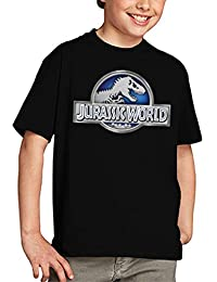 Camiseta Jurassic World niños Logo Classic (todas las tallas) (9-10 años