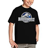 Camiseta Jurassic World niños Logo Classic (todas las tallas) (9-10 años)