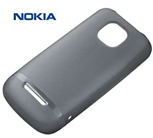 Nokia Soft Custodia Originale per Asha 311, Nero