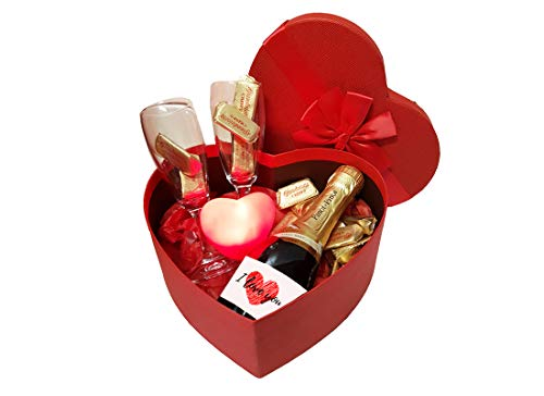 Irpot scatola cuore san valentino kitsv12 composizione regalo fai da te innamorati