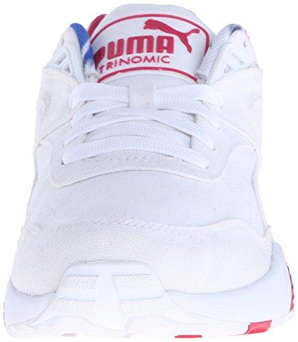 Stile Classico Sneaker Puma R698 Blur Wn White/Rose red