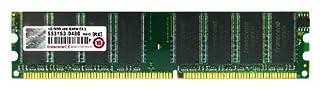 Transcend JM388D643A-5L Jet Ram - Memoria RAM 1 GB DDR 400 DIMM CL3 (B000I6L5S2)   Amazon price tracker / tracking, Amazon price history charts, Amazon price watches, Amazon price drop alerts