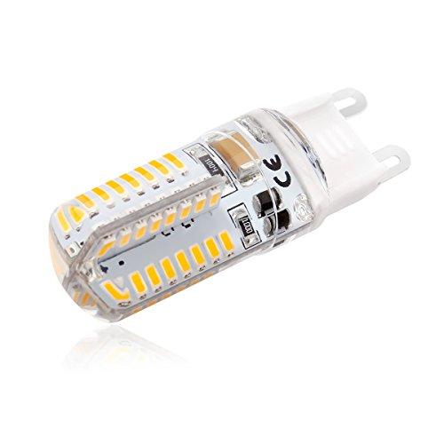 10er - Pack G9 LED Lampe, Jpodream® 5W Dimmbar G9 LED Birnen, 450 Lumen (Ersatz für 45W Halogen Lampen), Warmweiß 3000K, 360° Abstrahlwinkel, AC220-240V