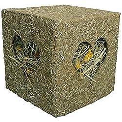 Rosewood Naturals I Love Hay - Cubo de Madera para Conejos/cobayas/Chinchillas y Granos (tamaño Grande)