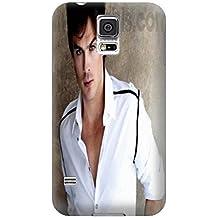COOL Ian Somerhalder Moda único Durable–Carcasa de TPU para Samsung Galaxy S5Por heywan
