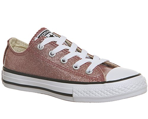 Converse Ctas Ox, Sneaker Unisex – bambini Pink (Rose Gold/Natural/White)