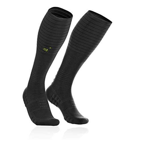 Compressport Full Socken Oxygen - Black Edition - SS19 - X Large