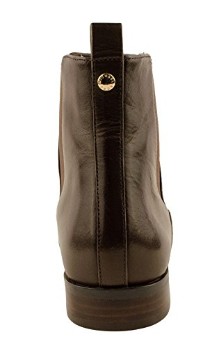 Michael Michael Kors Thea Bootie Damen Rund Leder Mode-Stiefeletten Dk Chocolate