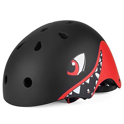 Youngsown casco da bicicletta a rullo elettrico casco, pattino da auto pattinaggio equipaggiamento protettivo da corsa scorrevole casco da ciclismo con animale per bambino
