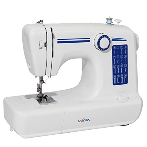 Generic Loskii 16 Stitches Multifunction Electric Sewing Machine Household Double Stitch Overlock Machine One Piece