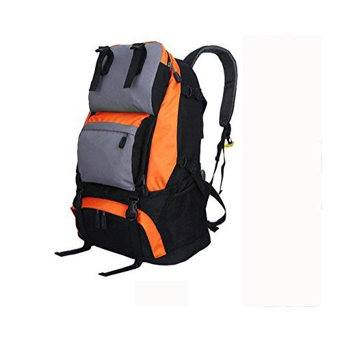 Zaino 40L viaggio all'aperto Backetravel sacco da alpinismo , black Orange
