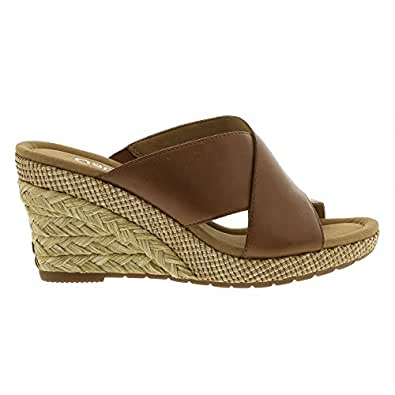 gabor damen comfort offene sandalen mit keilabsatz amazon. Black Bedroom Furniture Sets. Home Design Ideas