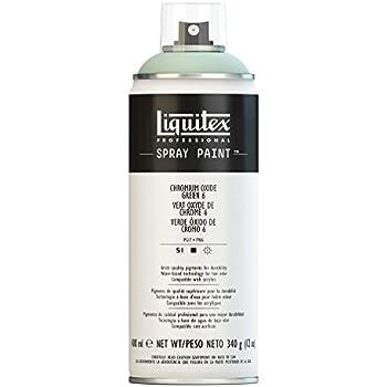 Liquitex Professional Peinture Acrylique Aérosol 400 ml Vert Oxyde de Chrome 6