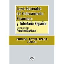 Leyes Generales del Ordenamiento Financiero y Tributario Español (Derecho - Biblioteca De Textos Legales)