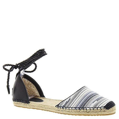 UGG® Australia - Libbi Serape - Damen Espandrillo, Espandrille, Fashion Sandale, Slingback 1011189, Blau/Schwarz (Skyline), US 9 / EUR 40