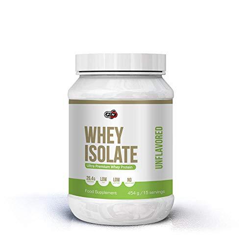 Pure Nutrition WHEY ISOLATE Protein Pulver|Molkenproteinpulver Drink|Molkepulver Muskelaufbau Low Carb Fat Ohne Zucker|Neutral Schokolade Cookies Hazelnut Molke Eiweiß Pulver|15|30|60 Portionen -