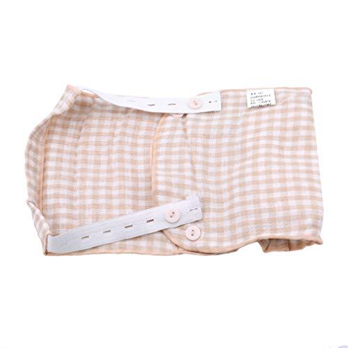 MOONRING Dreischichtige Baumwolle Einstellbare Stoffwindel Wiederverwendbare Tasche Waschbare Windel