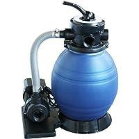 well2wellness® Pool Sandfilteranlage/Kompaktfilter D450 - speziell für kleinere Pools + Aufstellbecken