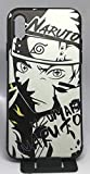 Art-design Coque iPhone X et iPhone XS Luffy One Piece Uzumafi Naruto Silicone Souple