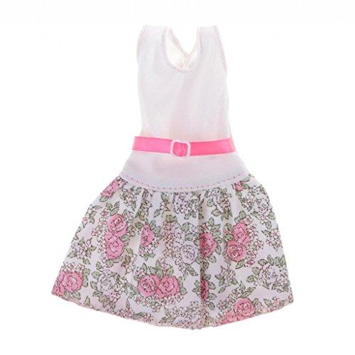 Homyl Handgemachte Puppen Kleidung Outfit für 1/6 Barbie Puppen Dress Up - # 3