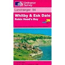 Whitby and Esk Dale, Robin Hood's Bay (Landranger Maps)