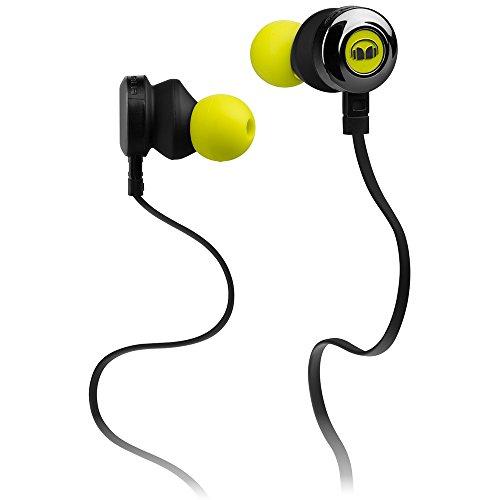 Monster ClarityHD High Performance InEar-Kopfhörer (mit 1-Button ControlTalk Universal) Grau/Gelb
