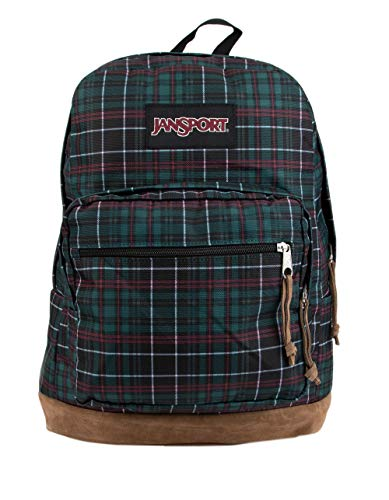 Jansport Right Pack Expressions Backpack - Mystic Pine Plaid -