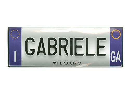 Biglietto Di Auguri Musicale Con Nome (Gabriele)